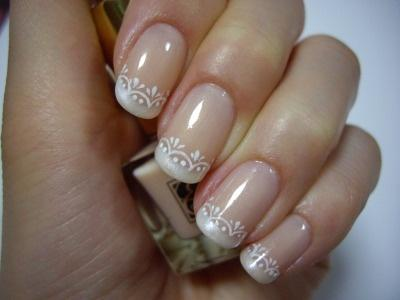 New Take On A French Manicure