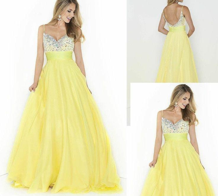 Желтое платье подружки невесты