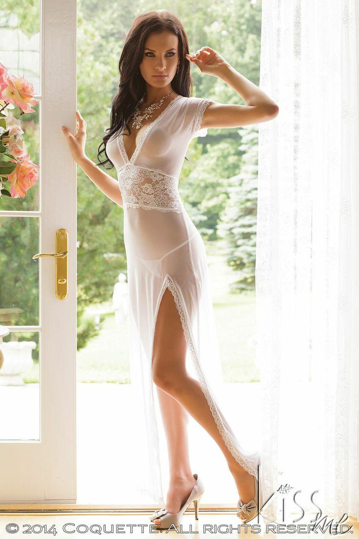 Wedding dress sexy lingerie