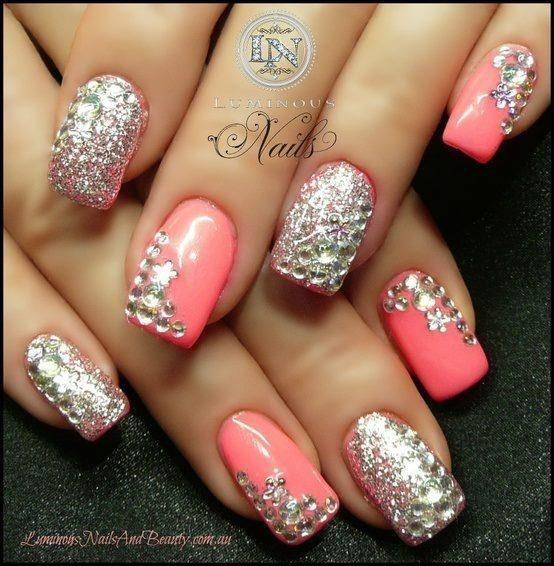 Bling Nails - Wedding Nail Designs - Bling Nails #2057321 - Weddbook