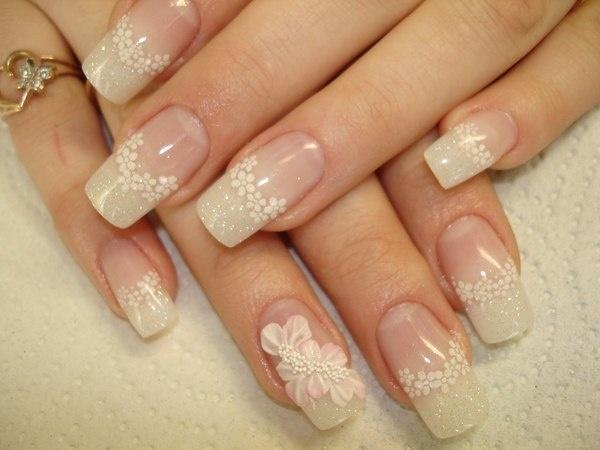 Wedding nail designs bridal sexy nail art 2060803 weddbook bridal sexy nail art prinsesfo Images