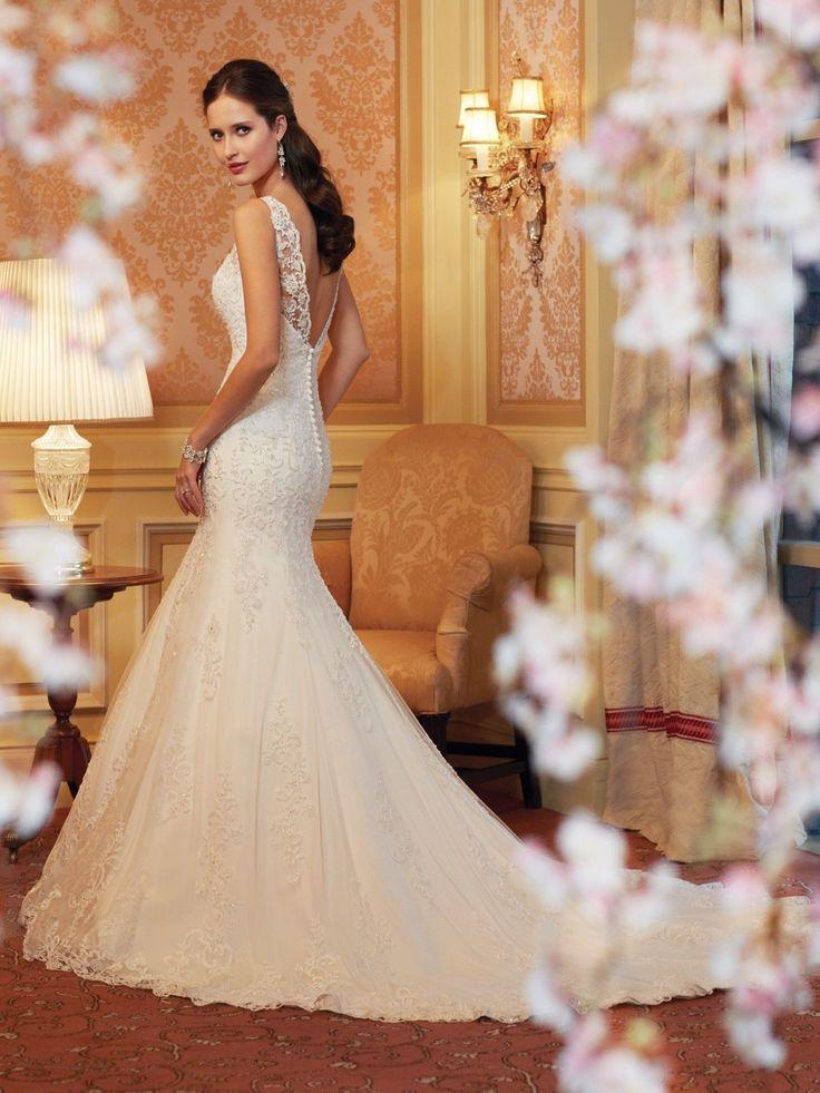Perfect bride wedding dress gown bridal custom size 2 4 6 for Best wedding dresses for size 12