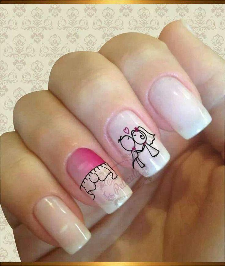 Short nails art pinterest