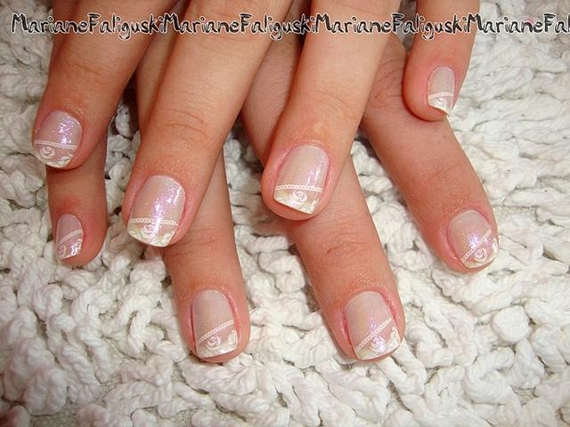 Hochzeits Nail Designs Brautnagel 2065188 Weddbook