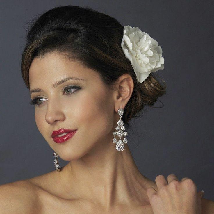 Stunning CZ Cubic Zirconia Wedding Prom Pageant Chandelier ...