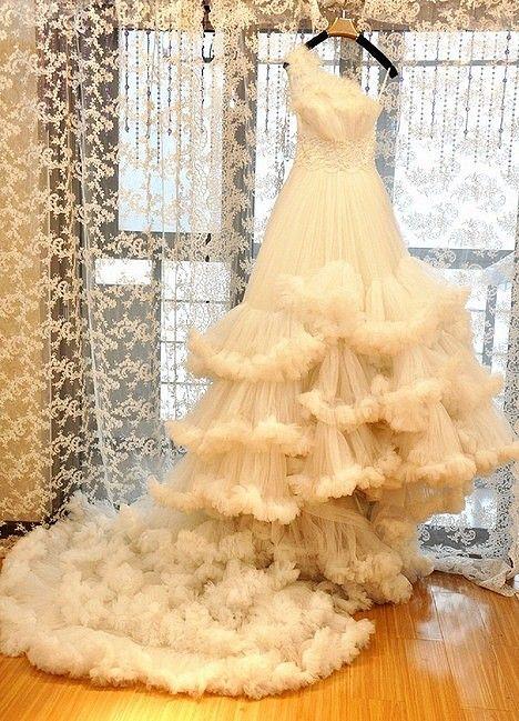 Wedding - Softy wedding dress