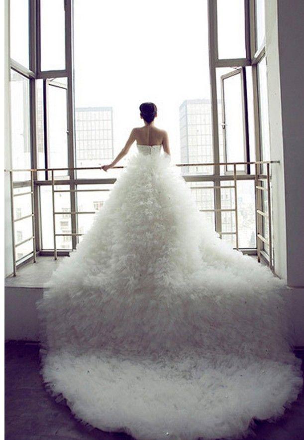 Mariage - Saint-robe de mariée magnifique