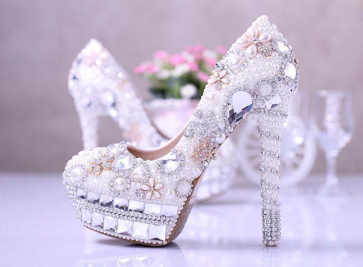 Mariage - Women Shoes Wedding Party Heels