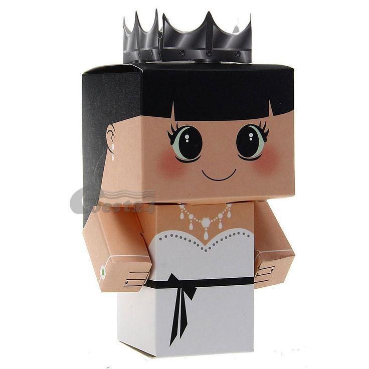 Свадьба - 12 PCS Bridal Groom Wedding Favor Candy Gift Boxes Party