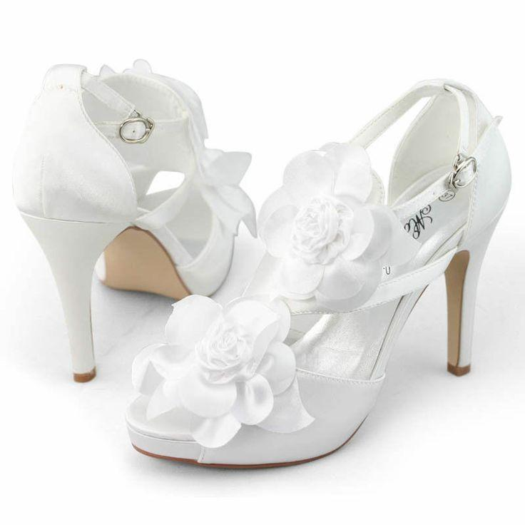 d8c69c87dba Gorgeous Womens 3D Flower Open Top Sandals Heels Dresses Wedding ...