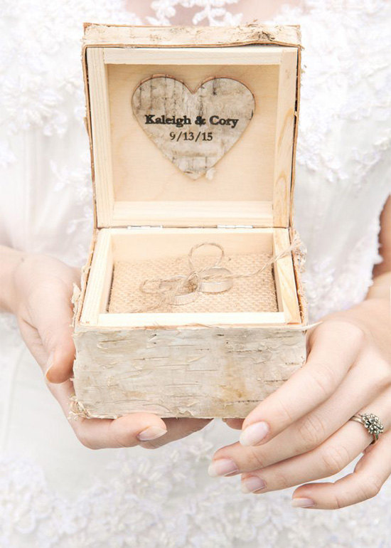 Wooden Wedding Invite with luxury invitation ideas