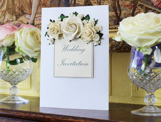 زفاف - Vintage Romance Wedding Invitation - New