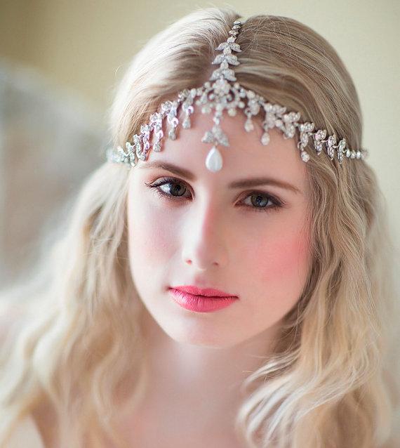 Accessories - Boho Bridal Headband - #2218680 - Weddbook