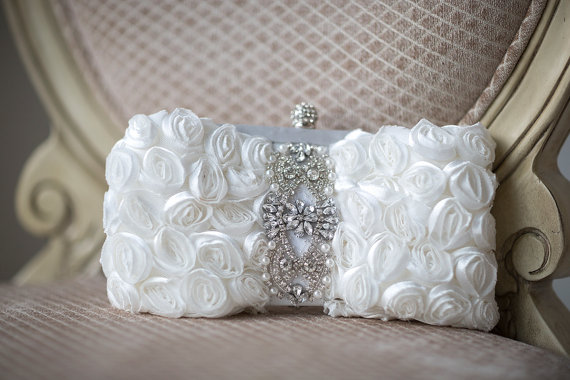 Nozze - Wedding Clutch, Bridal Purse, Bridal Handbag, Wedding purse, Bridal Clutch - New