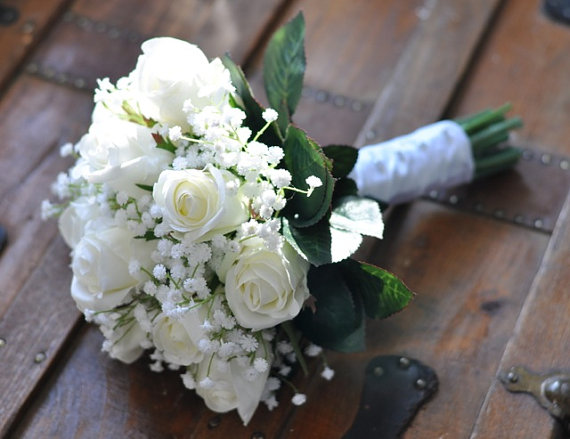 Wedding Flowers, Wedding Bouquet, Keepsake, Bridal Bouquet