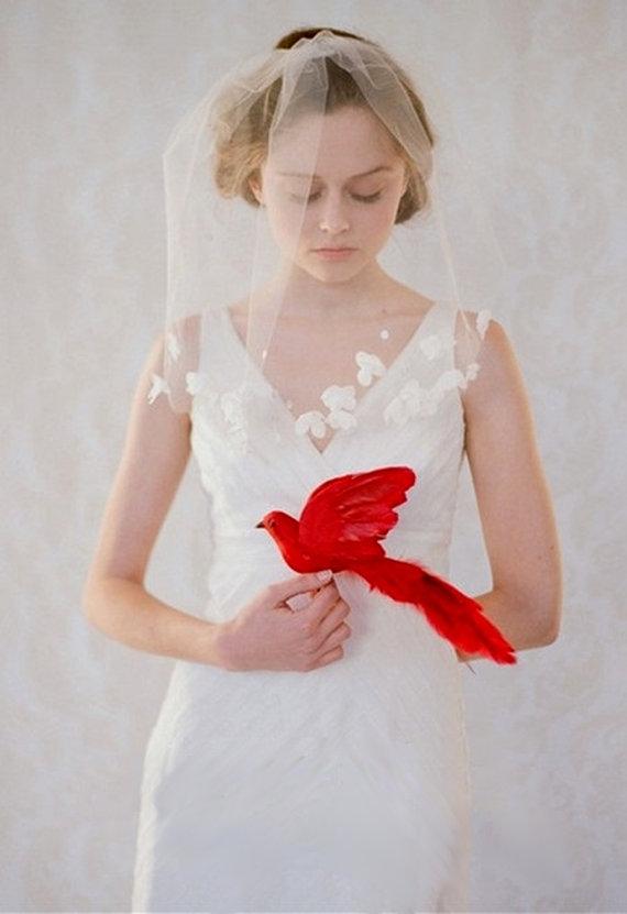 Mariage - Exquisite 1t 1 Tier Bridal Wedding Veil (612) - New