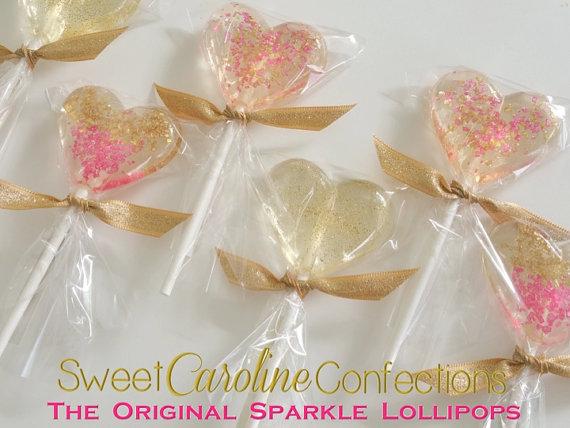 Mariage - Be my Valentine Lollipops by Sweet Caroline