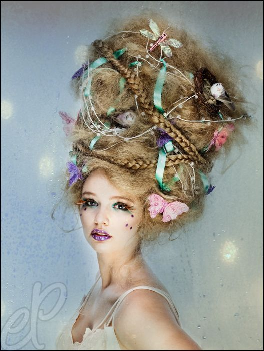 Crazy Wedding Makeup : Hair - Mood Board Crazy HairandMakeup-Day #2292449 - Weddbook