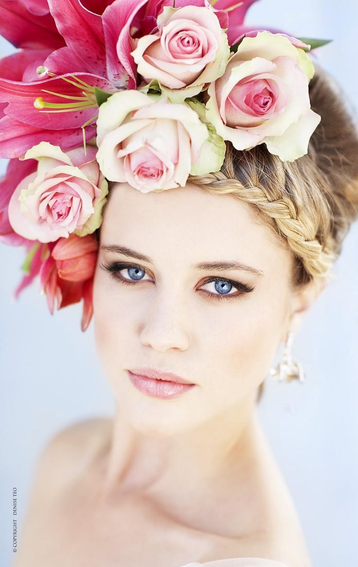 Свадьба - Wedding Bridal Hair Styles Veils Accessories