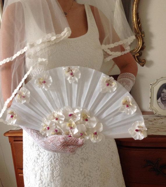 Wedding Fan Bouquet