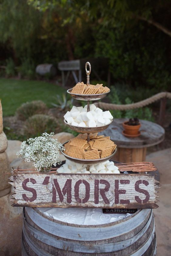 Food Favor Top 30 Wedding Food Bars Youll Love 2499121 Weddbook