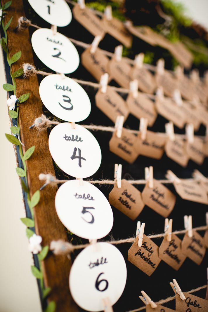 Mariage - Gorgeous Wedding Escort Card Ideas To Lead The Way