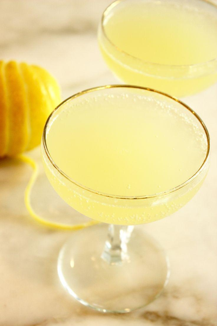 Hochzeit - Limoncello Prosecco Cocktail Float