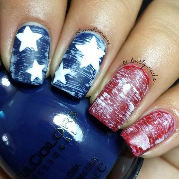 29 fantastic fourth of july nail design ideas 2504160 weddbook 29 fantastic fourth of july nail design ideas prinsesfo Choice Image