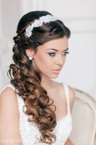 Свадьба - 20 Gorgeous Half Up Wedding Hairstyle Ideas