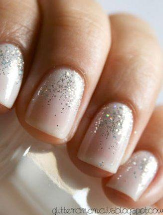 Свадьба - Our 8 Favorite Wedding Nails From Pinterest!