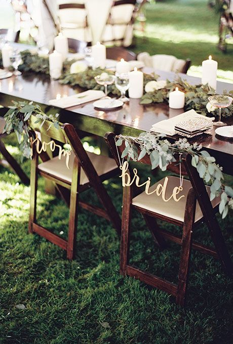 Mariage - Wedding Chair Decorations