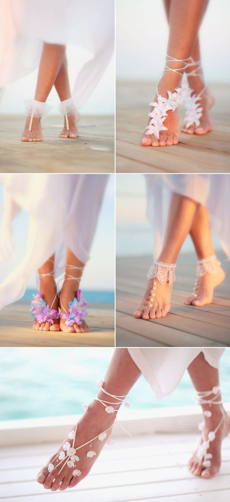 Свадьба - Beautiful Floral Shoe