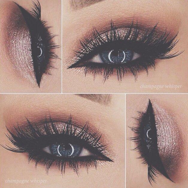 Wedding - Gold Smokey Eye