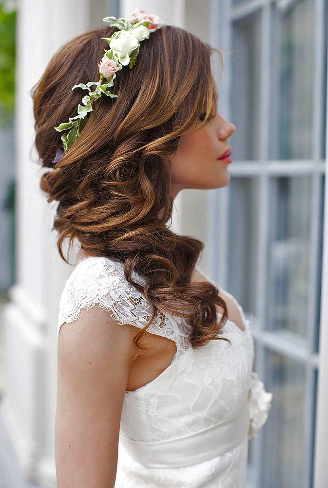 Свадьба - 24 Gorgeous Blooming Wedding Hair Bouquets