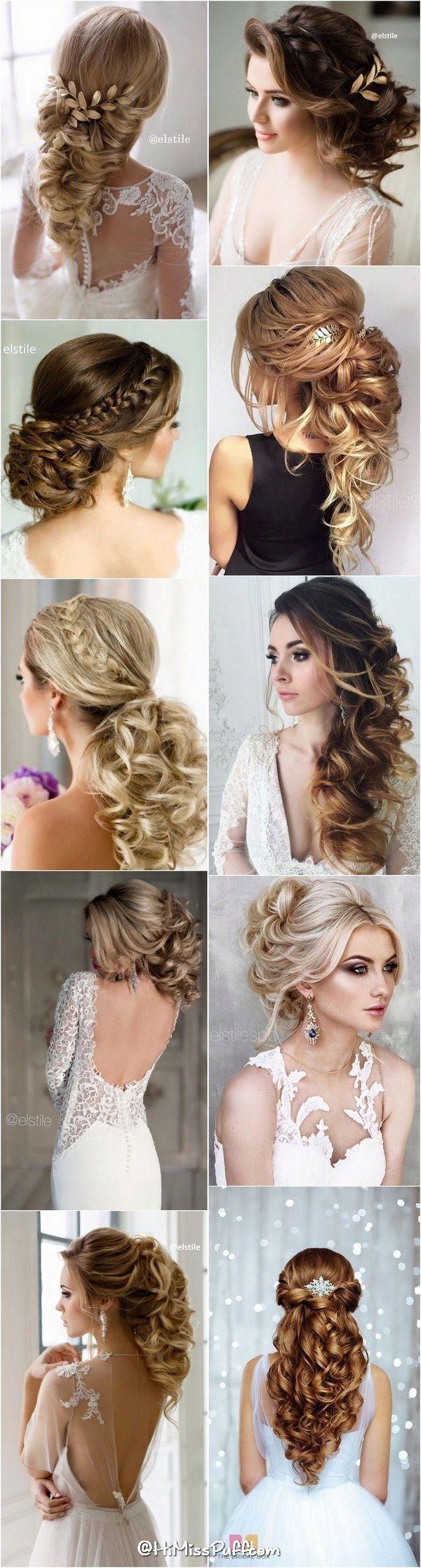 Hochzeit - 200 Bridal Wedding Hairstyles For Long Hair That Will Inspire
