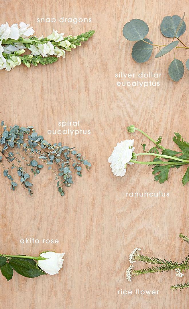 Mariage - Bouquet Blueprint