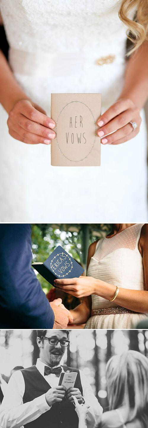 Wedding - Creative Wedding Vows Keepsakes
