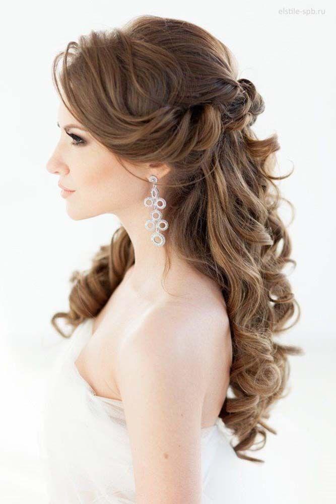 Свадьба - 33 Favourite Wedding Hairstyles For Long Hair