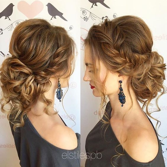 Свадьба - Perfectly Imperfect Messy Hair Updos For Girls With Medium To Long Hair