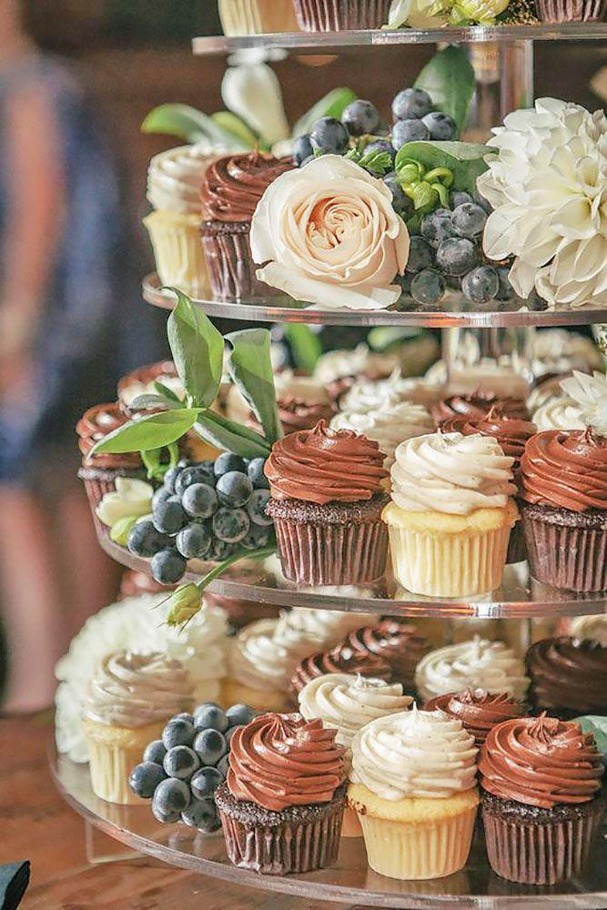 Hochzeit - 24 Chocolate Wedding Cupcake Ideas You Must See