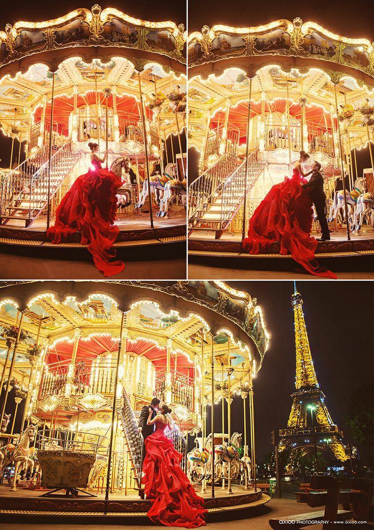 Mariage - 愛情. 巴黎. 遊樂園.