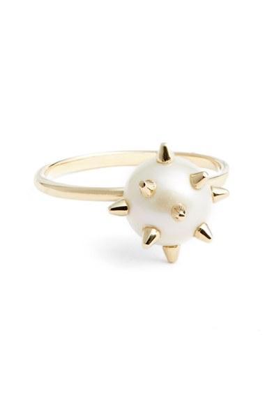 Mariage - Nektar de Stagni 'New Classics' Spike Cultured Pearl Ring