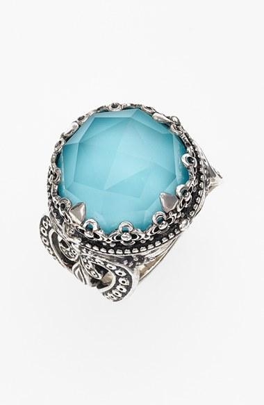 Mariage - Konstantino 'Aegean' Round Stone Ring