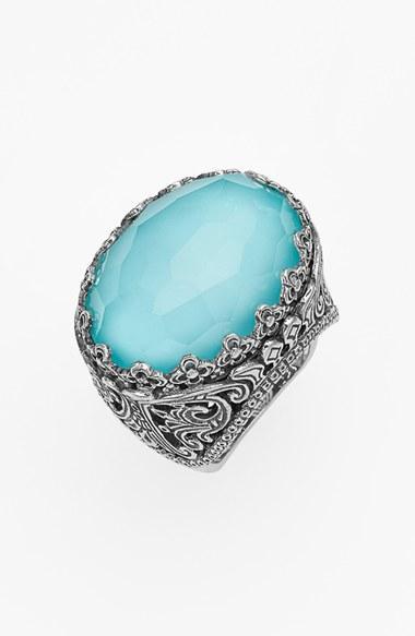 Mariage - Konstantino 'Aegean' Oval Stone Ring