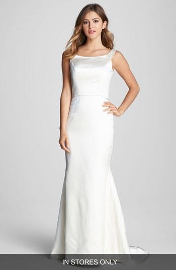 Mariage - Caroline DeVillo 'Lauren' Silk Trumpet Dress (In Stores Only)