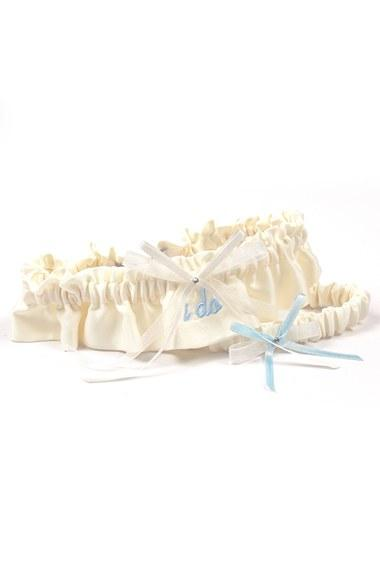 Wedding - Cathy's Concepts 'I Do' Embroidered Garter