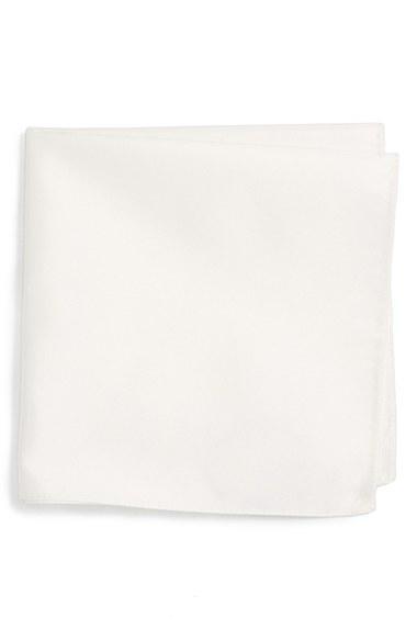 Свадьба - BOSS Solid Silk Pocket Square