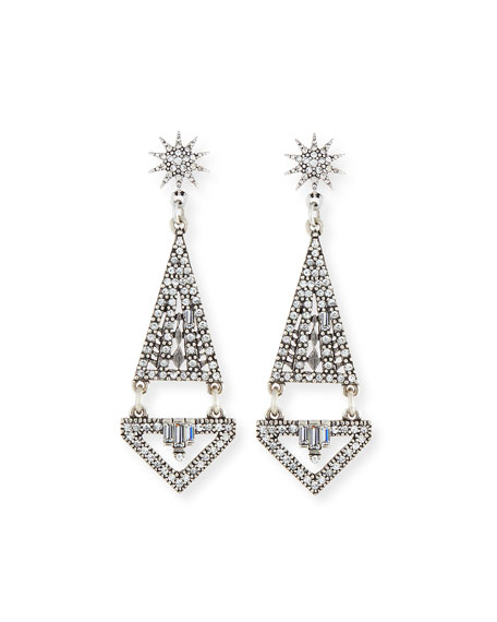Düğün - Electra Crystal Statement Earrings