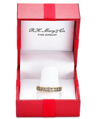 Свадьба - Macy's Diamond Channel Ring in 14k Gold (1/2 ct. t.w.)