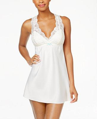 Wedding - Flora by Flora Nikrooz Flora by Flora Nikrooz Emma Lace-Trimmed Charmeuse Chemise
